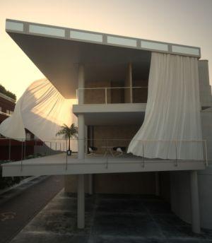 Tende Velario diagonali