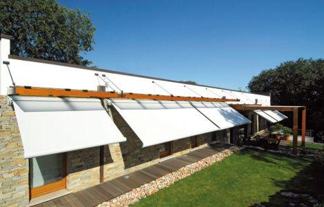 """Tenda a protezione solare """"Ellisse"""" Pratic, realizzazione.."""